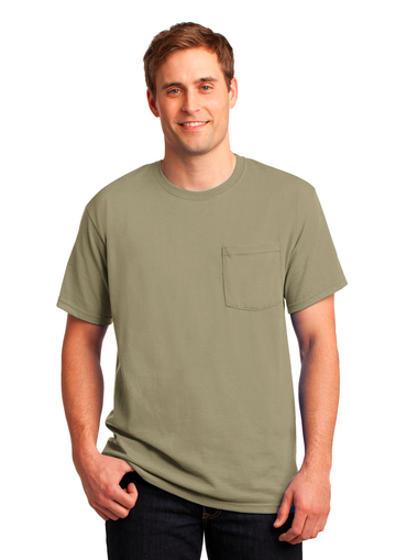 JERZEES® - Dri-Power® Active 50/50 Cotton/Poly Pocket T-Shirt-