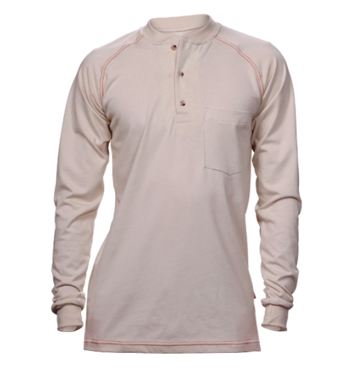 Reed FR Crew Cotton Jersey Shirt-Reed FR