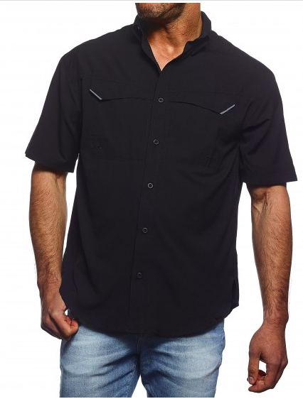 Men's Short Sleeve Fishing Shirt-Pro-Celebrity