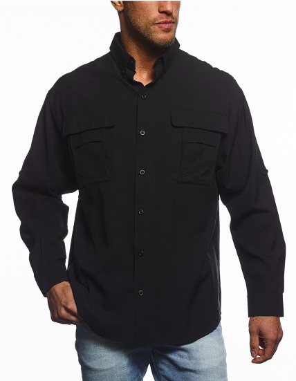 Men's Long Sleeve Fishing Shirt-Pro-Celebrity