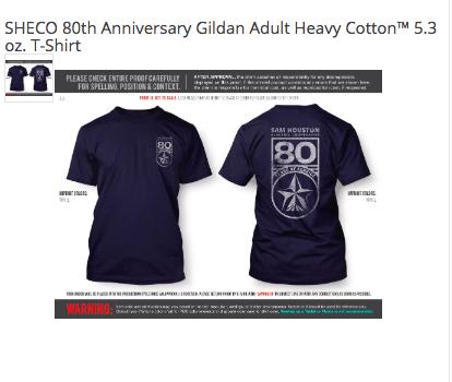 SHECO 80th Anniversary Shirt-