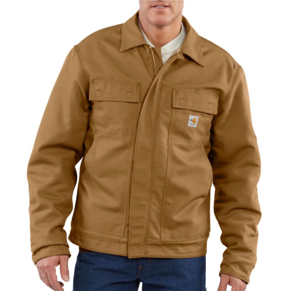 Carhartt Men's FR Lanyard Access Jacket/Quilt- Lined-