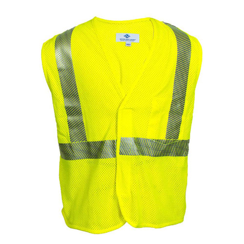 VIZABLE FR HI-VIS MESH SAFETY VEST - TYPE R CLASS 2-National Safety Apparel