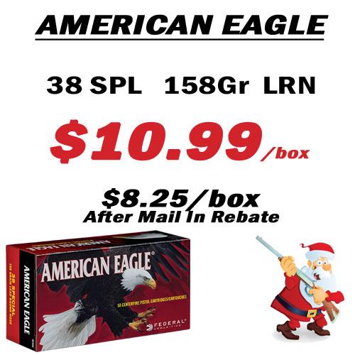American Eagle 38 Spl Ammunition
