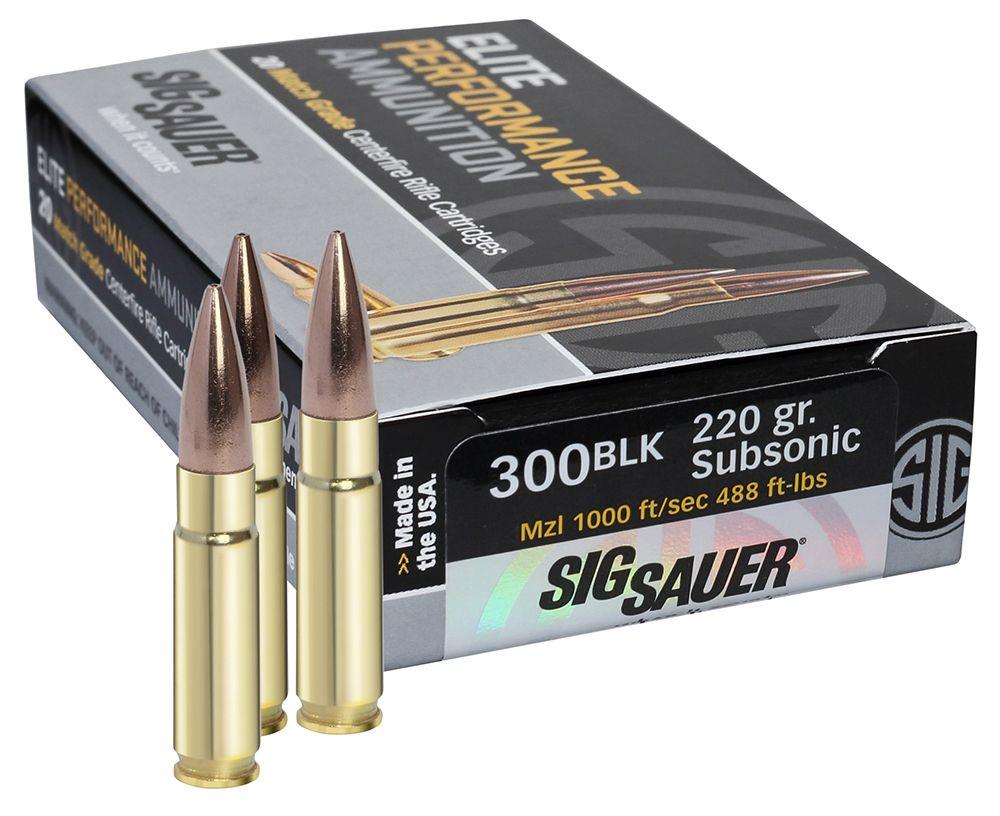 Sig Sauer Ammunition