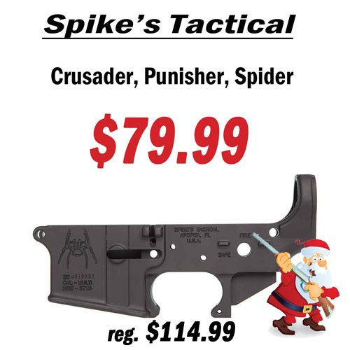 Spike's Tactical Stripped Lower - Crusader