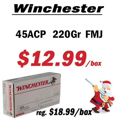 Winchester 45ACP Ammunition