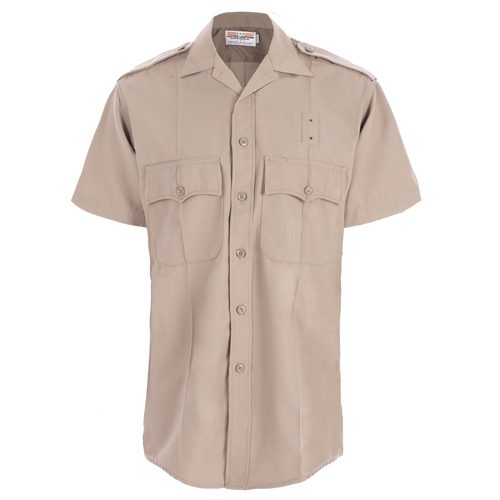 CDCR Shirt Short Sleeve Silver Tan-United Uniform