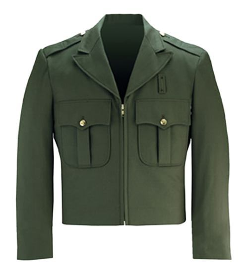 California Ike Jacket - Forest Green-Flying Cross