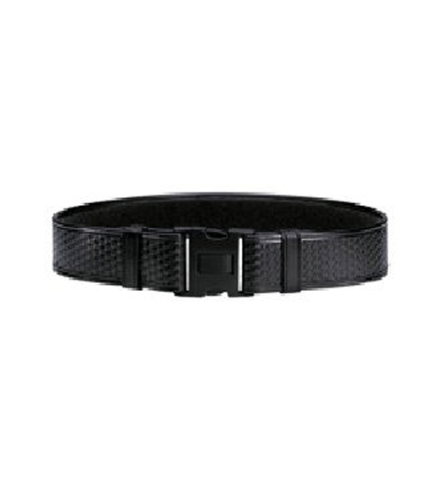 Acumold Duty Belt - Black, Basketweave-Other Brands