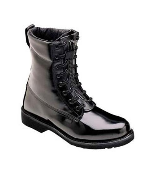 "Thorogood 8"" Front Zip Uniform Boots-Other Brands"