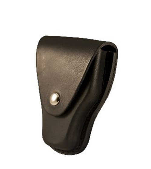 Handcuff Case Leather w/ Slotted Back-Boston Leather