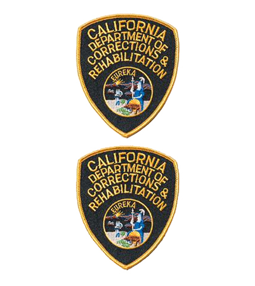 CDCR Shoulder Patches - 2 Pack-Other Brands