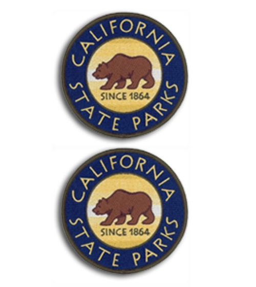 CA State Parks Shoulder Patches - 2 Pack-Other Brands