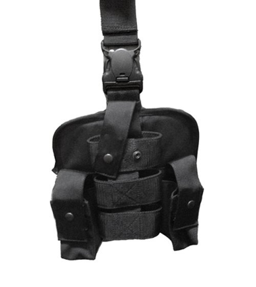 Double Grenade Holder with Single MK-9 Thigh Holder-Other Brands