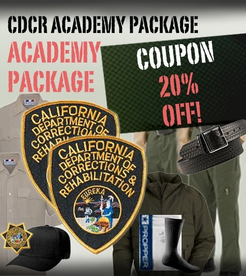 CDCR ACADEMY UNIFORM PACKAGE - Use Coupon CDCRACADEMY6 at checkout for 20% OFF!-Other Brands