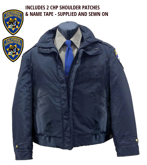 CHP Jacket - Includes CHP Shoulder Patches and Name Tape