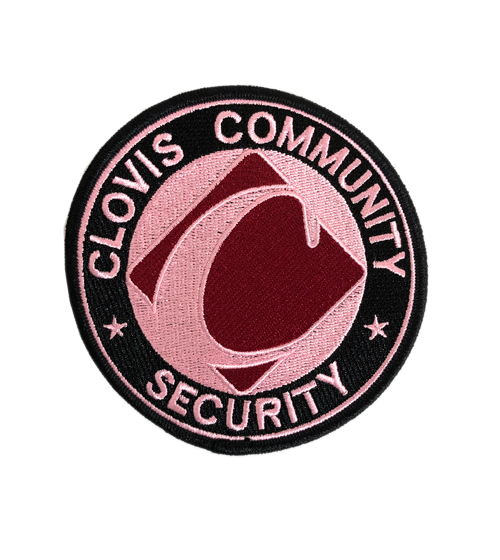 Clovis Community Security Pink Patch - ID required please see below-Other Brands