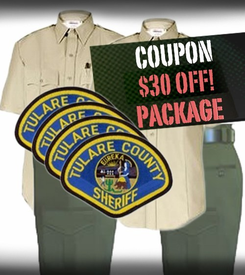 Tulare County Sheriff $30 OFF! Package - Coupon Code TULARECS