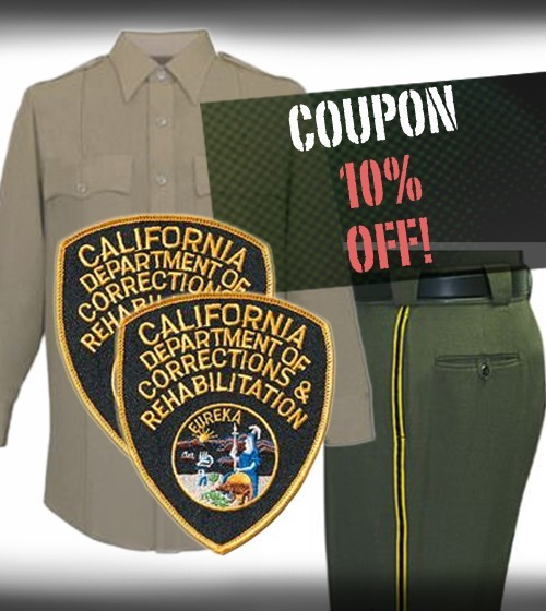 CDCR Class A Set / Cadet Graduate Package - use COUPON CODE CDCRCLASSA for 10% OFF AT CHECKOUT!