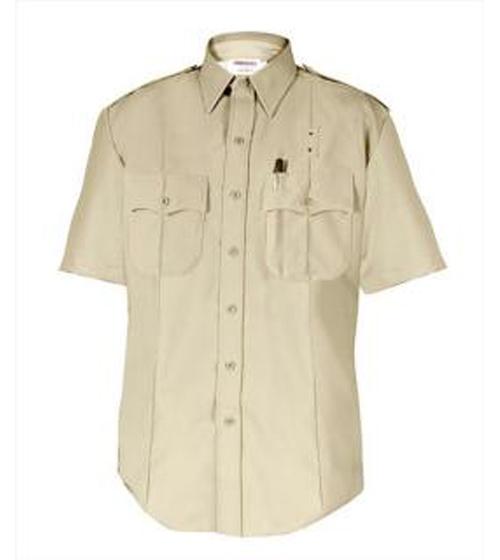 Men's Short Sleeve Shirt - DutyMaxx West Coast Styled, Silver Tan-Elbeco