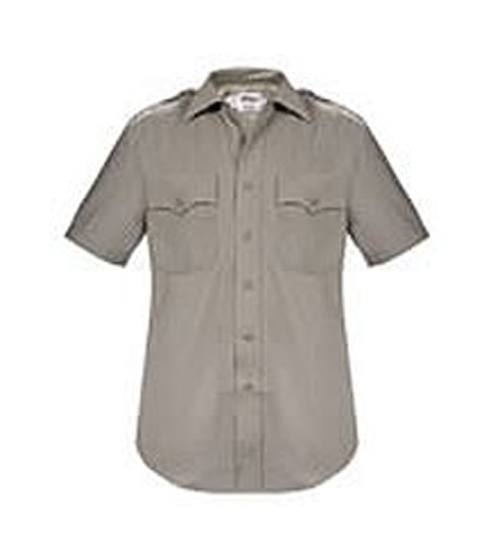 California Highway Patrol Class A Wool Blend Short Sleeve Shirts for Men-Elbeco