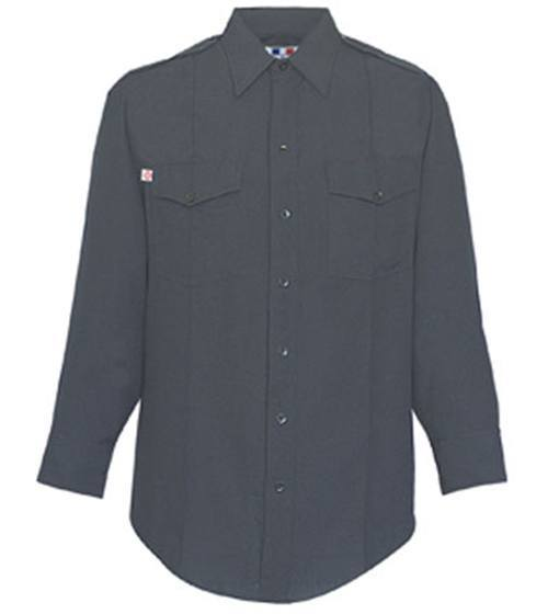 Men's NFPA Compliant Synergy Nomex IIIA Long Sleeve Shirt - Navy Blue -Flying Cross