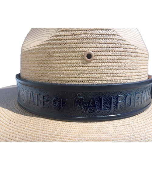 CA State Parks Leather Hat Band-Other Brands