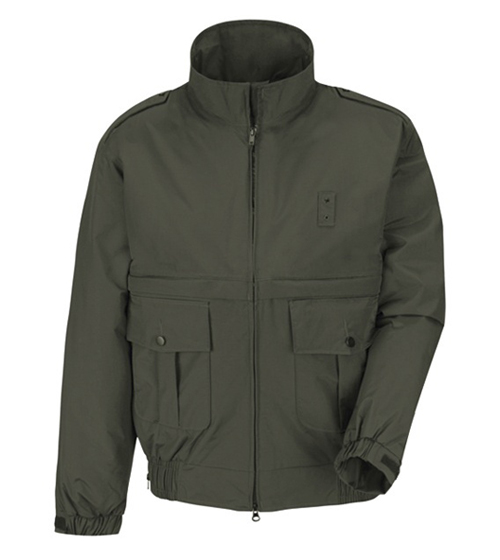CDCR Academy Uniform Jacket (hood not supplied) - Shoulder patches included and sewn on - Forest Green-Horace Small®