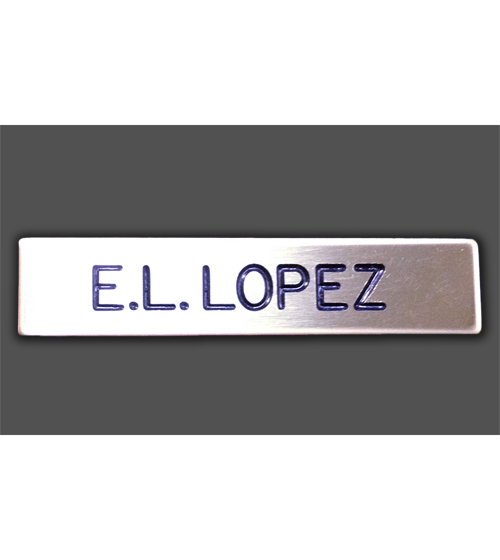 CA State Parks Nameplate - Personalized, Metal-Other Brands