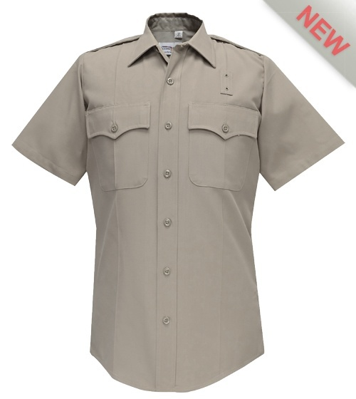 CDCR Academy Mens Class B Shirt Short Sleeves Flying Cross-Flying Cross
