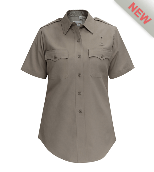 CDCR ACADEMY Shirt Womens Class B Short Sleeve Shirt Flying Cross-Flying Cross