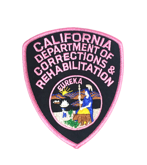Pink CDCR Patch - ID required please see below-Other Brands