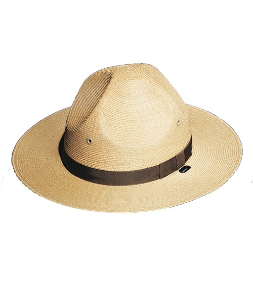 Campaign Style Hat, Straw-Other Brands