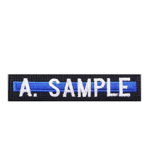 Thin Blue Line Name Tape with Velcro Back-Other Brands