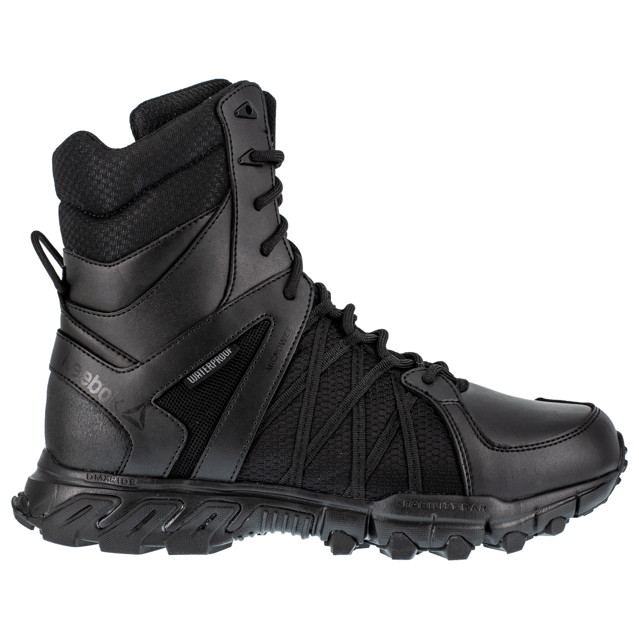 "8"" Tactical Boot with side zipper-Reebok"