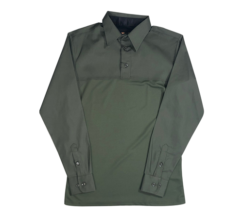 Base Shirt Long Sleeve Shirt Mens Poly/Cotton Undercarrier Long Sleeve Shirt-United Uniform