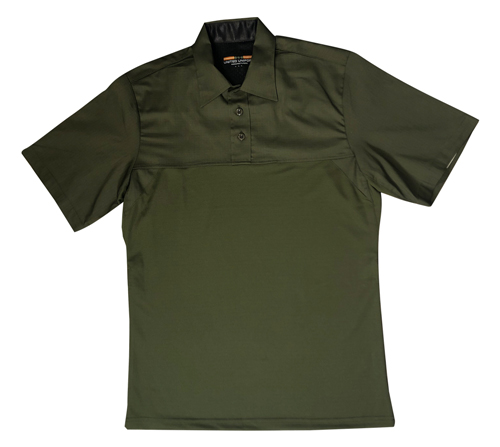 Base Shirt Short Sleeve Mens Poly/Cotton Undercarrier Shirt-United Uniform