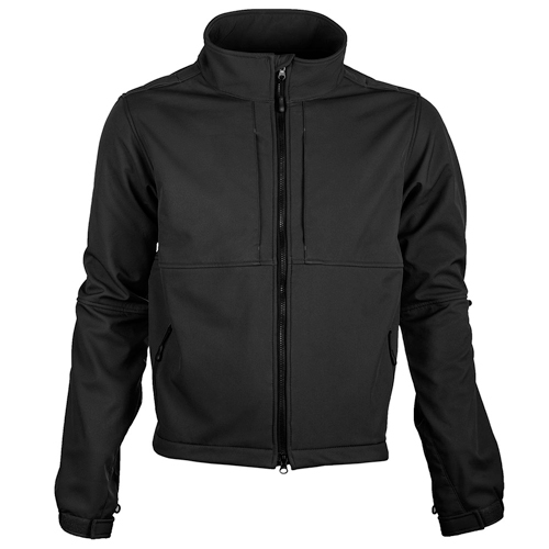 Soft Shell Winter Jacket Black-Tactsquad