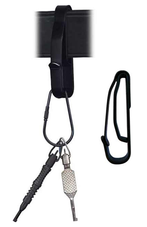 """Key Ring Holder Fits Up To 2-1/4"""" Wide Duty Belt-Other Brands"""