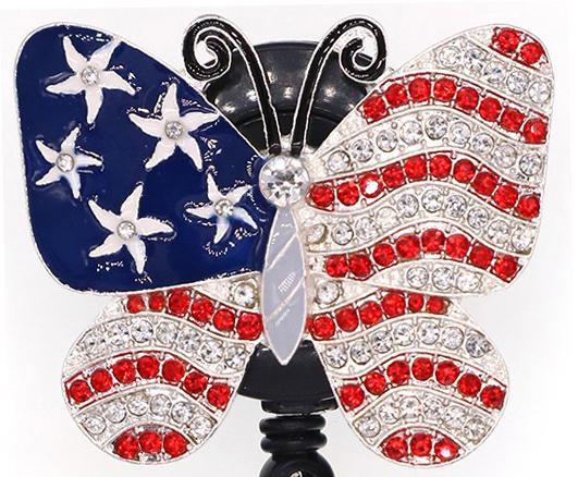 American Butterfly - Dazzle Badge Reel-Cutieful