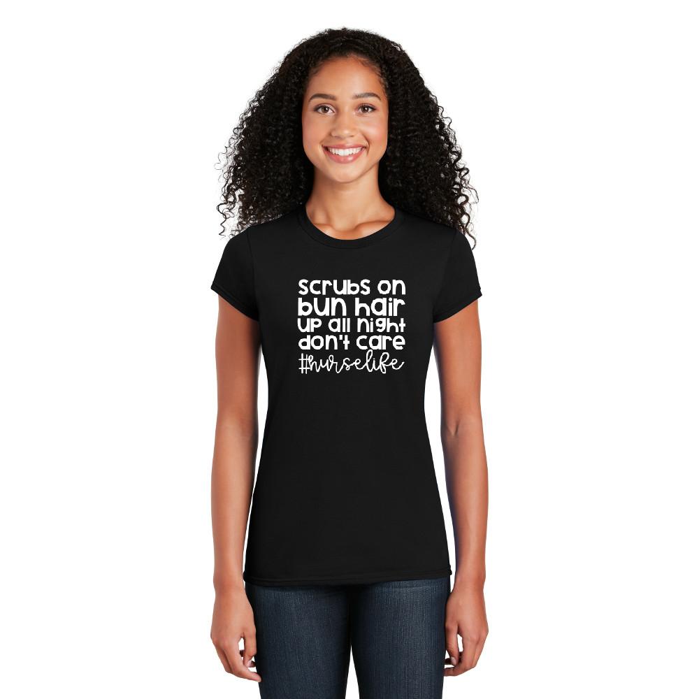 #nurselife - Cotton Short Sleeve T-Shirt-Cutieful