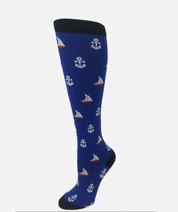 15-20 mmHg Knit Compression Socks-Cutieful