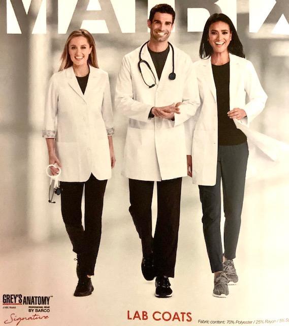 Grey's Anatomy Lab Coats