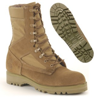 USMC Hot Weather Combat Boot - No Spike Protection