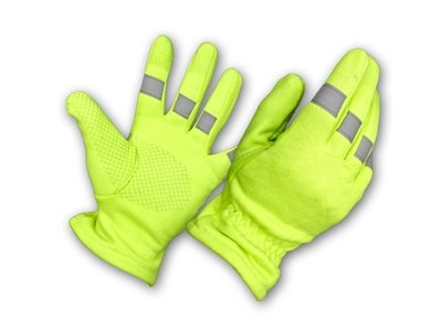USA High Visibility Glove with 3M Reflective Strip-Perfect Fit