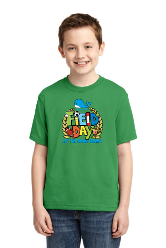 Jerzees® - Youth Dri-Power® Active 50/50 Cotton/Poly T-Shirt.-Jerzees