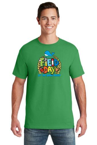 Jerzees® -ADULT Dri-Power® Active 50/50 Cotton/Poly T-Shirt.-Jerzees