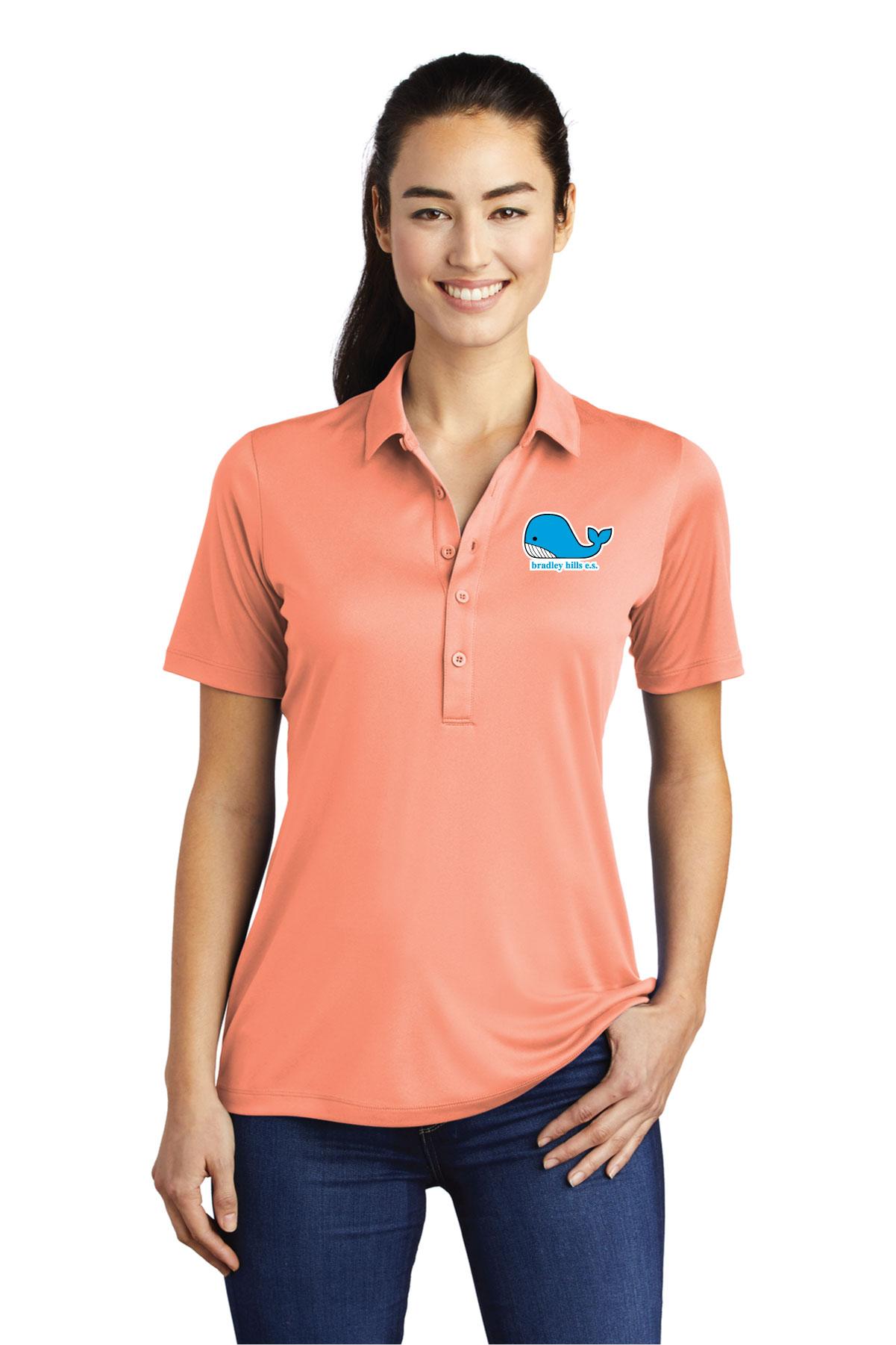 Sport-Tek® Ladies Posi-UV Pro Polo.-Sport-Tek