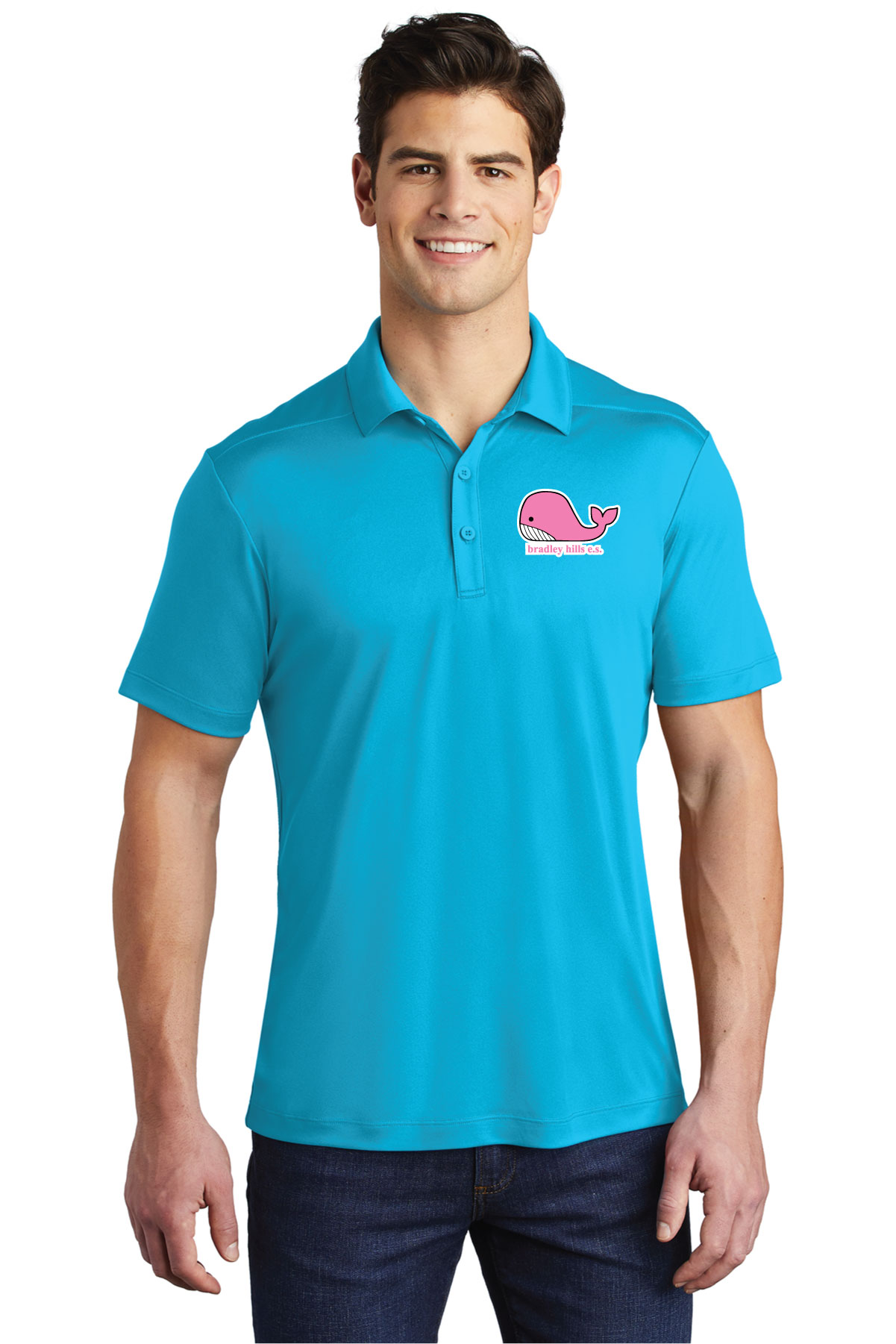 Sport-Tek ® Posi-UV Pro Polo.-Sport-Tek